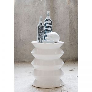 « WHITE 14 JUILLET SIDE TABLE »
